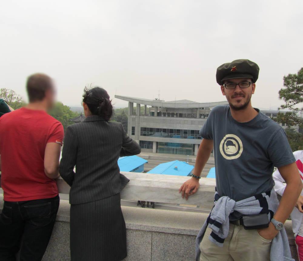 Grenze Nordkorea Südkorea Panmunjom DMZ