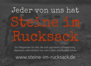 Steine im Rucksack Hilfsportal